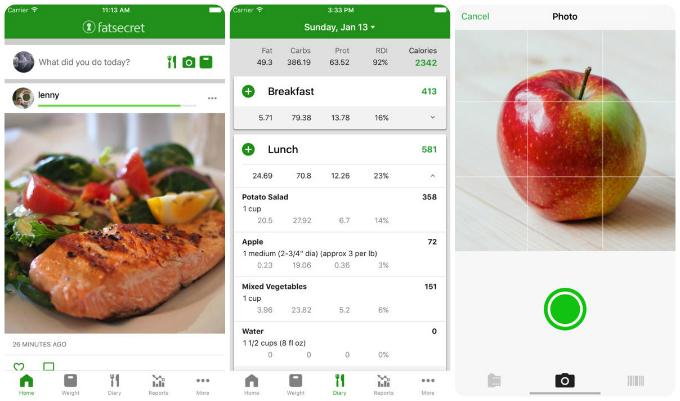 Giảm cân cấp tốc bằng app FatSecret