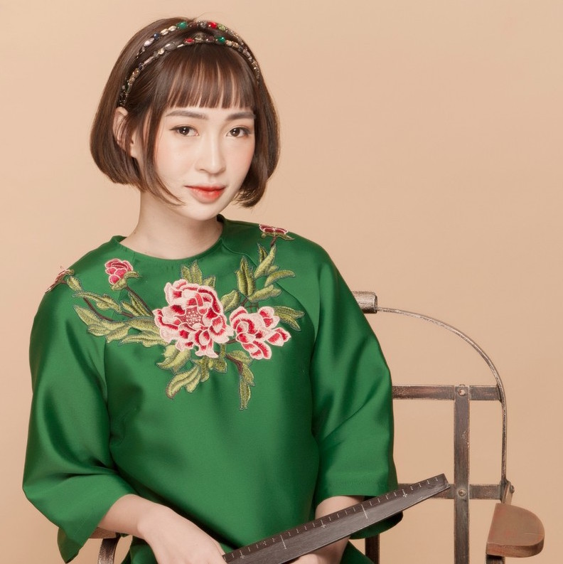 9 Kiểu tóc mặc áo dài giúp nàng thêm xinh ngày Tết