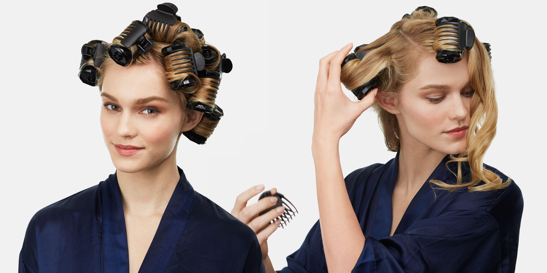 tóc ngắn uốn sóng nước không dùng nhiệt