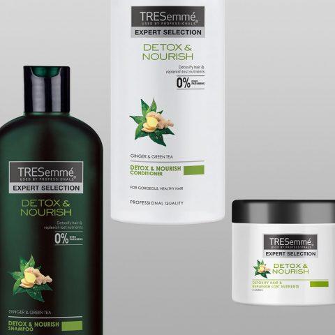 Tresemmé Salon Detox được biết đến là loại dầu gội giúp tóc mau dài hiệu quả