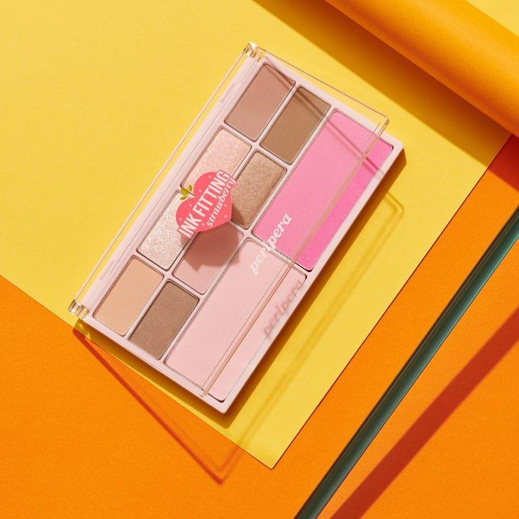 bảng màu mắt Peripera Ink Fitting Color Palette