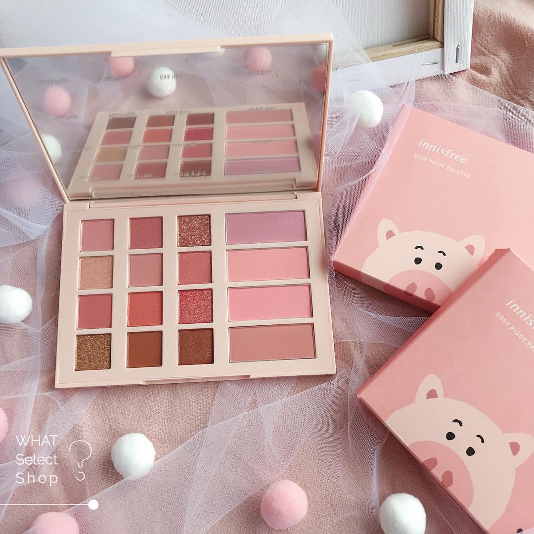 bảng màu mắt Innisfree Rosy Piggy Palette