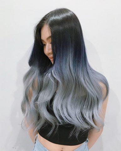 Ombre khói – ý tưởng mới dành cho mái tóc nhàm chán