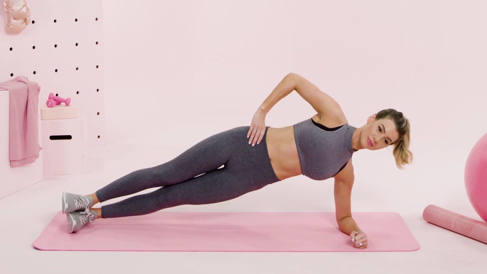 tập plank đúng tư thế