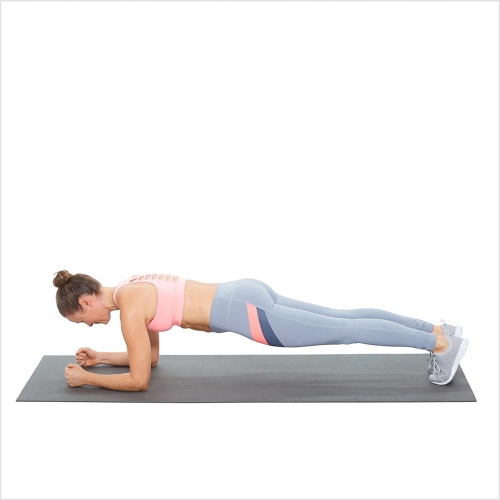 tập plank hiệu quả mỗi ngày