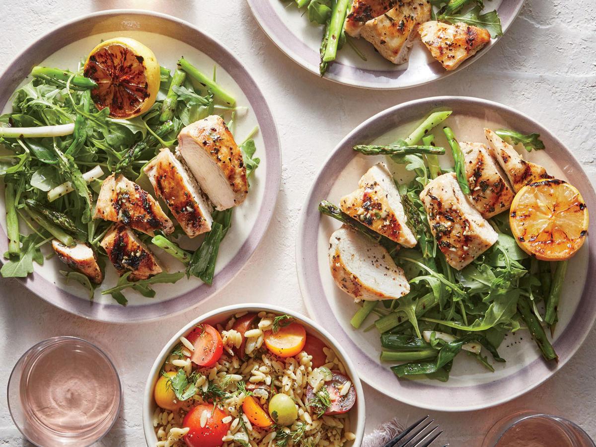 Healthy food giàu protein sẽ bù đắp nhanh chóng năng lượng mà không làm tăng cân
