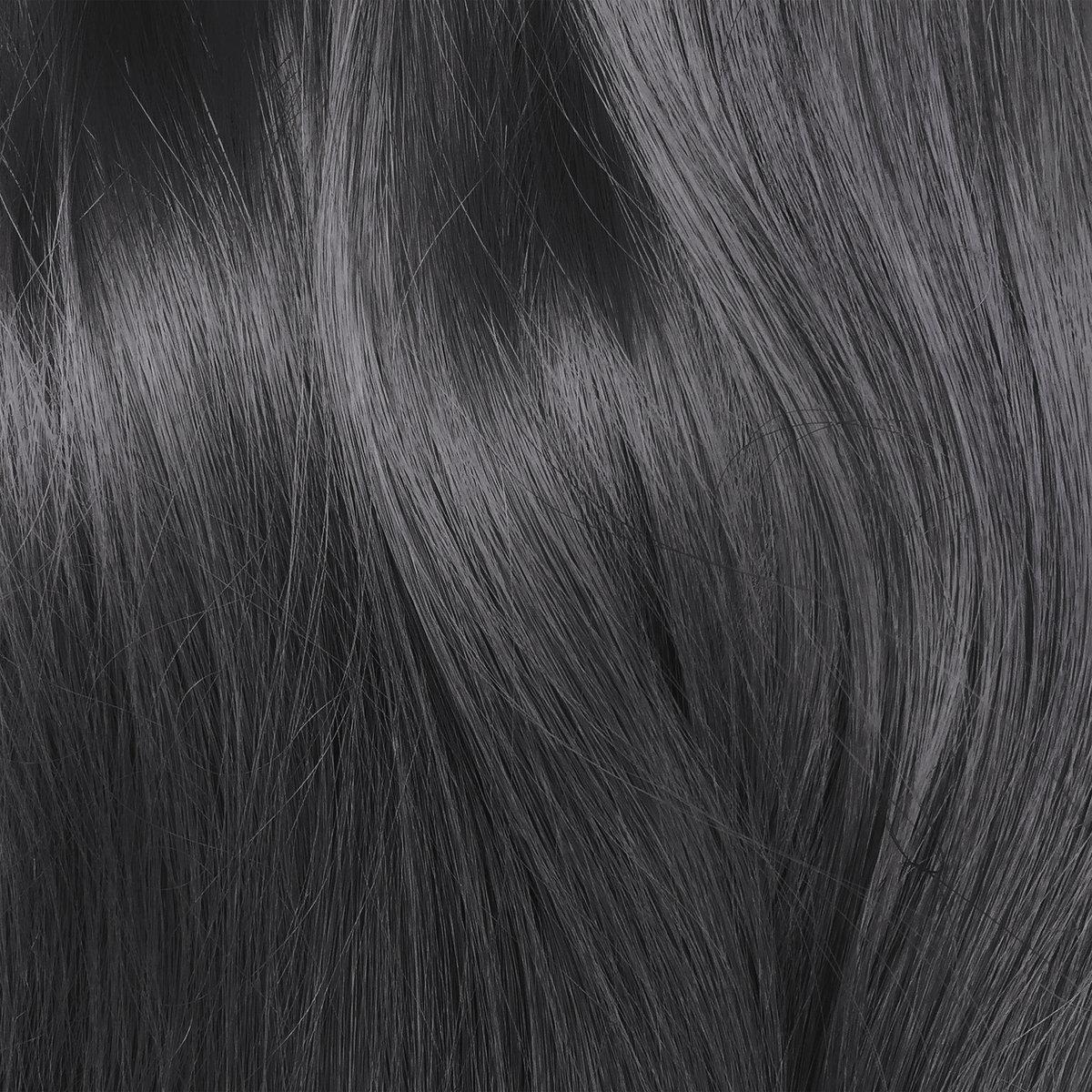 nhuộm tóc đen khói lạnh
