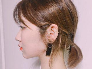 Nàng tóc ngắn thử ngay 5 kiểu cột tóc đẹp đơn giản sau