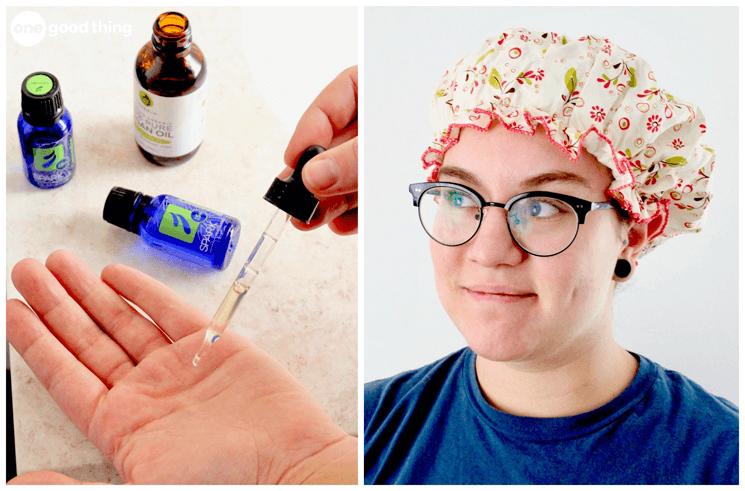 chữa rụng tóc đơn giản