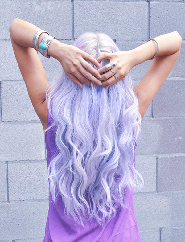 Periwinkle – màu tóc hot đang làm điên đảo instagram