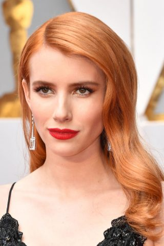 bảng màu tóc nhuộm đỏ