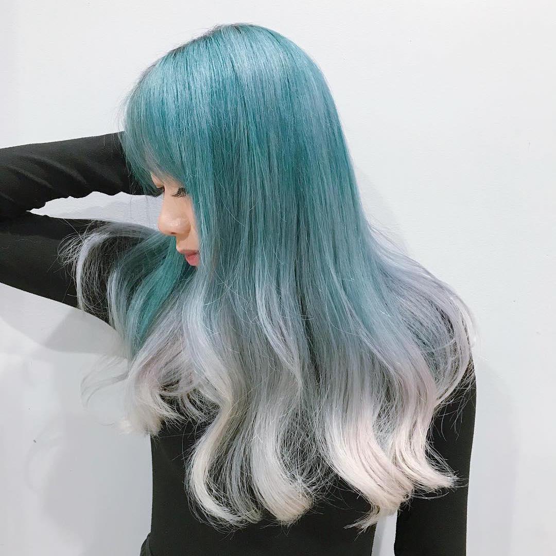 màu tóc ombre