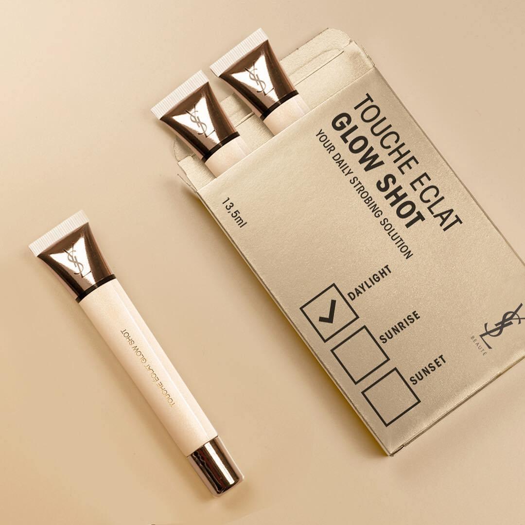 """Bạn có """"chịu chi"""" cho highlight chất lượng như Yves Saint Laurent Touche Éclat Glow Shot?"""