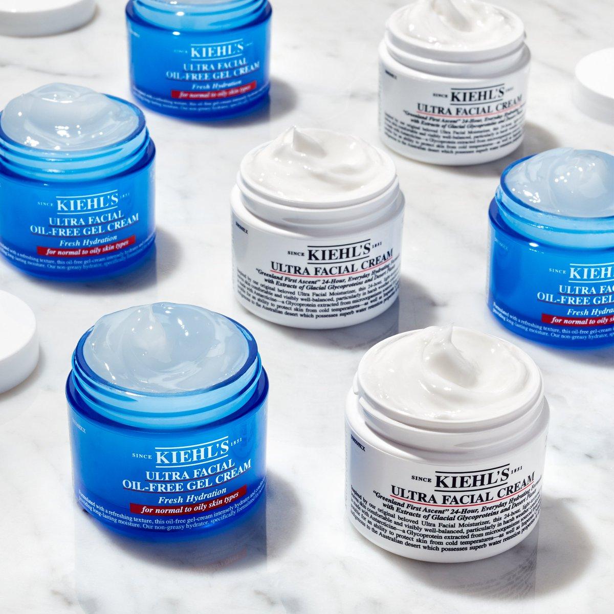 Kiehl's Ultra Facial Oil – Free Gel Cream