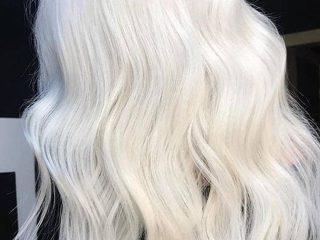 """""""Đuổi"""" kịp xu hướng với màu tóc trắng Bắc Âu thời thượng"""