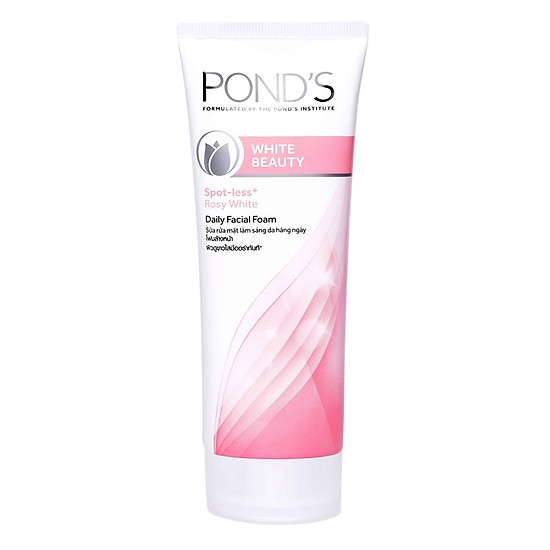 Sữa rửa mặt skincare routine Pond's White Beauty