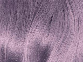 Hội hè đâu thể thiếu các màu tóc nhuộm đẹp như màu lavender khói chứ!