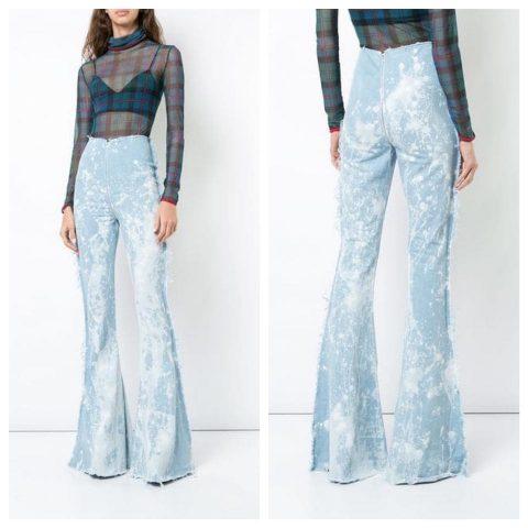 Sành sỏi 5 cách phối quần jean ống loe như Fashionista chính hiệu