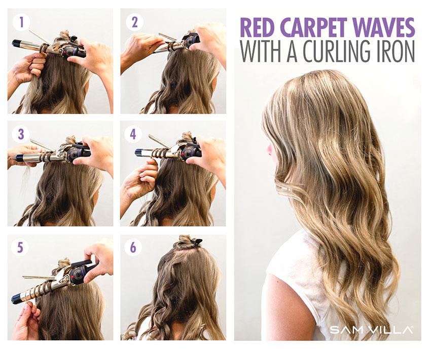 tóc xoăn lọn