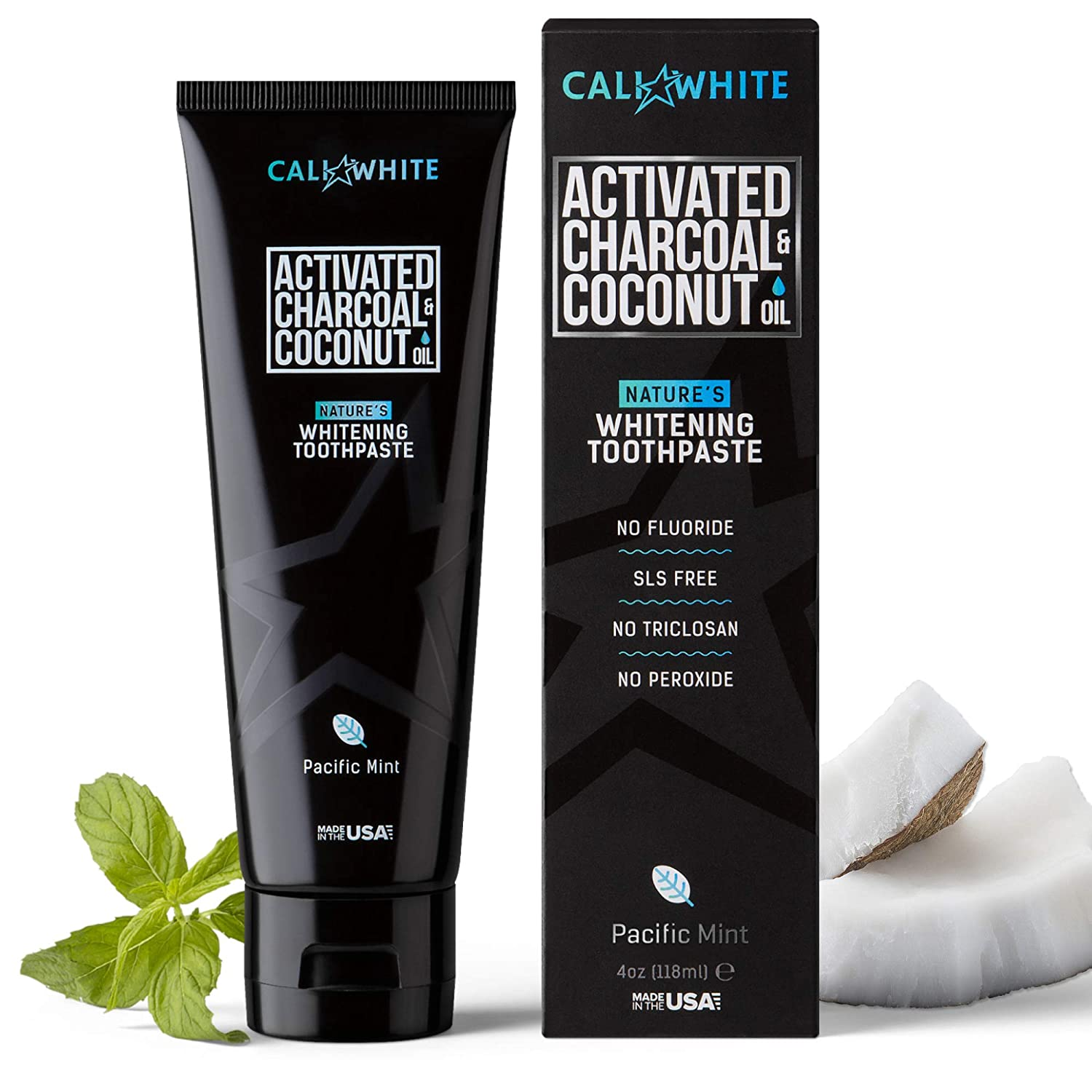 Cali White Advanced Charcoal Toothpaste