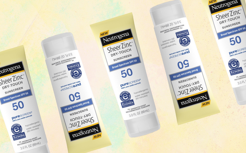 Neutrogena Sheer Zinc Mineral Sunscreen SPF 50