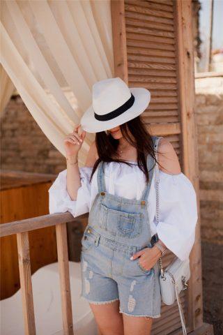 5 cách phối áo trễ vai cho mùa hè