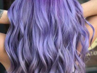 Màu tóc Lavender: Vị ngọt ngào cho bảng màu tóc của bạn!