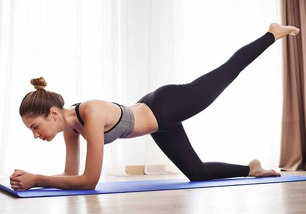 các bài tập Pilates