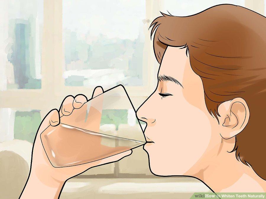 uống nước giàu fluride