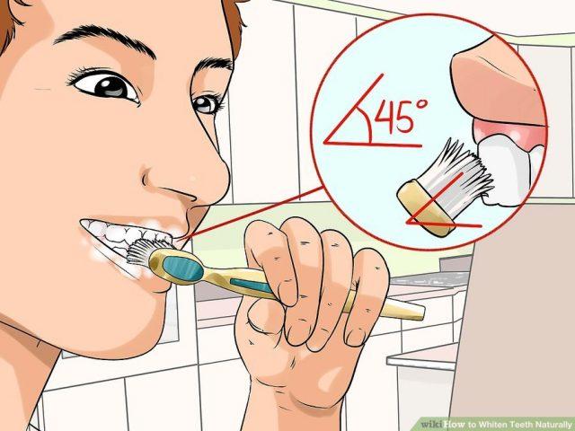 trắng răng tự nhiên đơn giản
