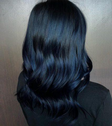 """Làm thế nào để """"chiến"""" được mái tóc màu xanh đen mà bạn luôn muốn có"""