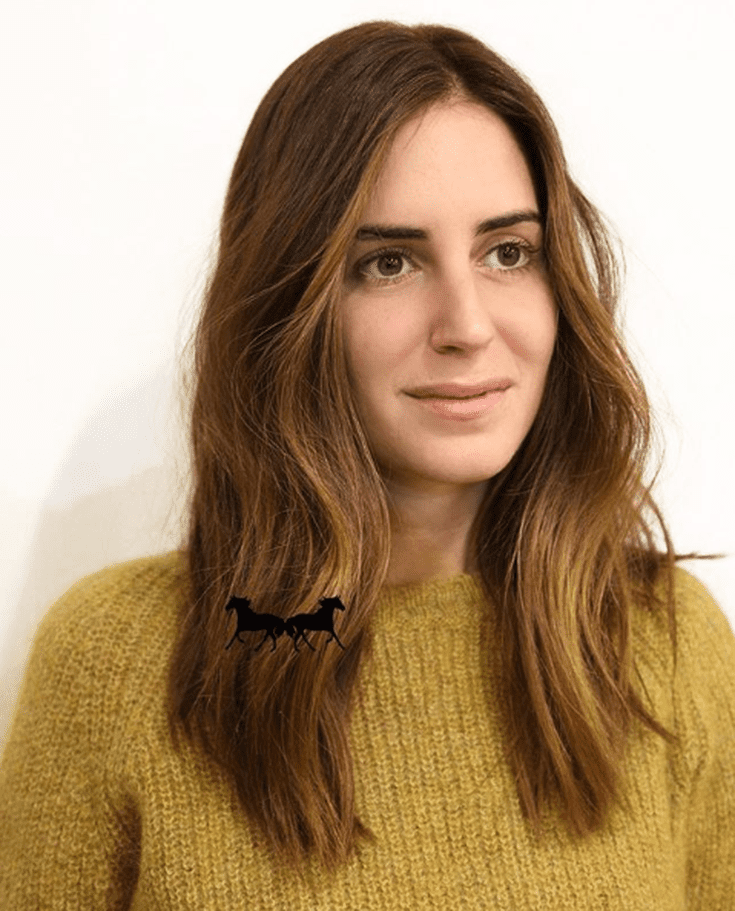 tóc màu nâu kết hợp vàng mật ong