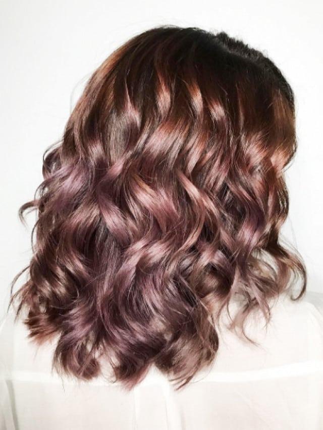 tóc ngắn uốn sóng nước