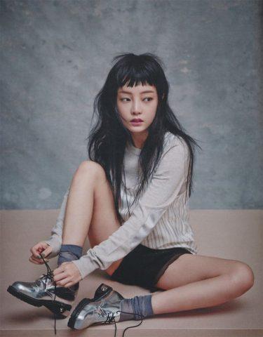 tóc mái kiểu Hàn
