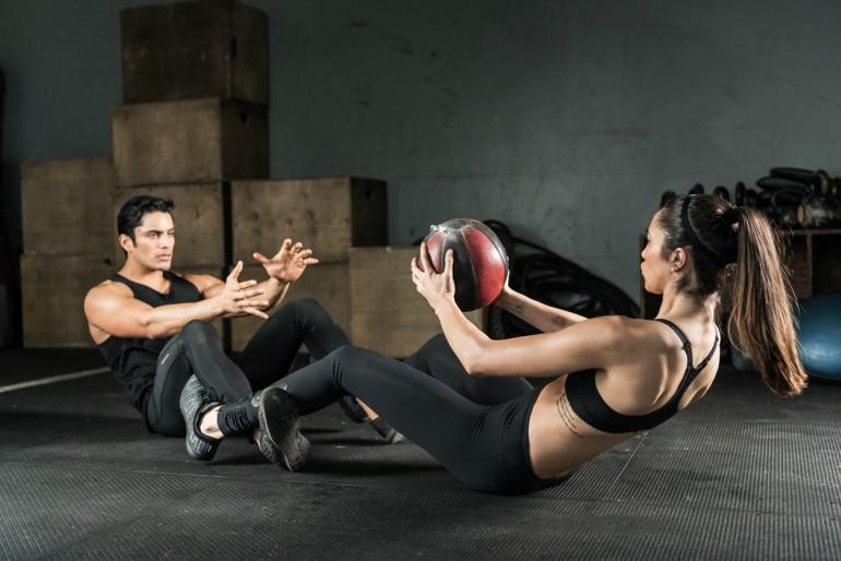 Tập thể dục đôi