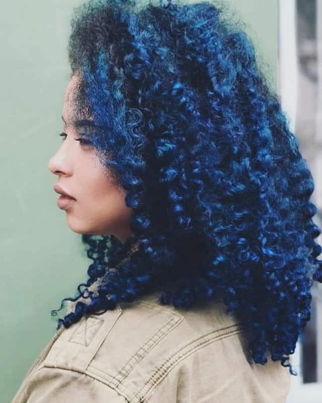 Kiểu Cookie Monster Curls