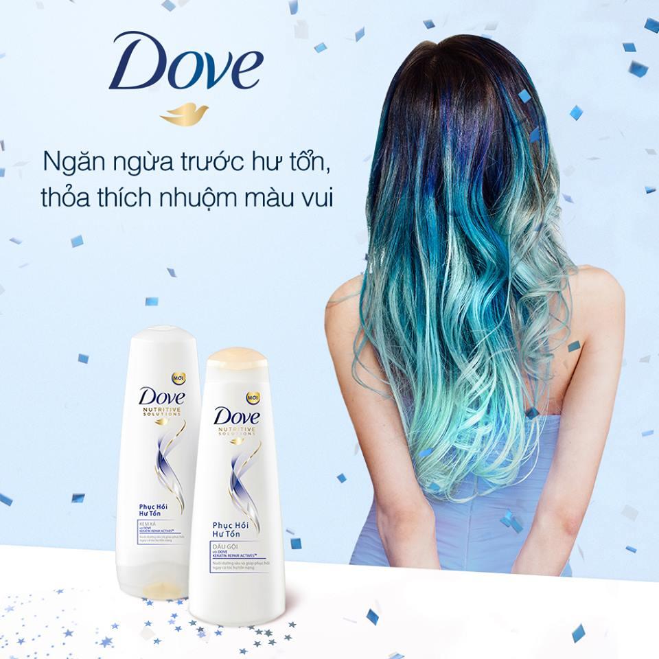 các dòng dầu gội Dove