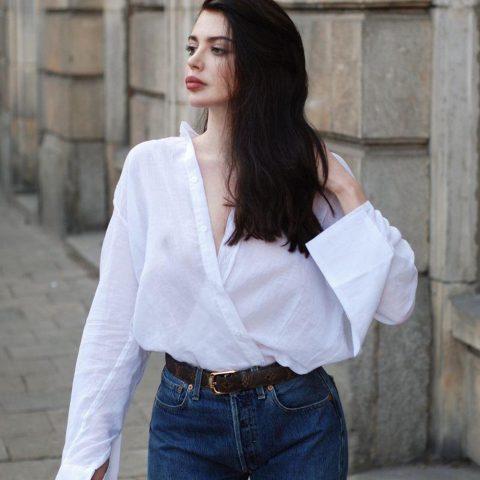 4 công thức cách phối sơ mi trắng chuẩn fashionista