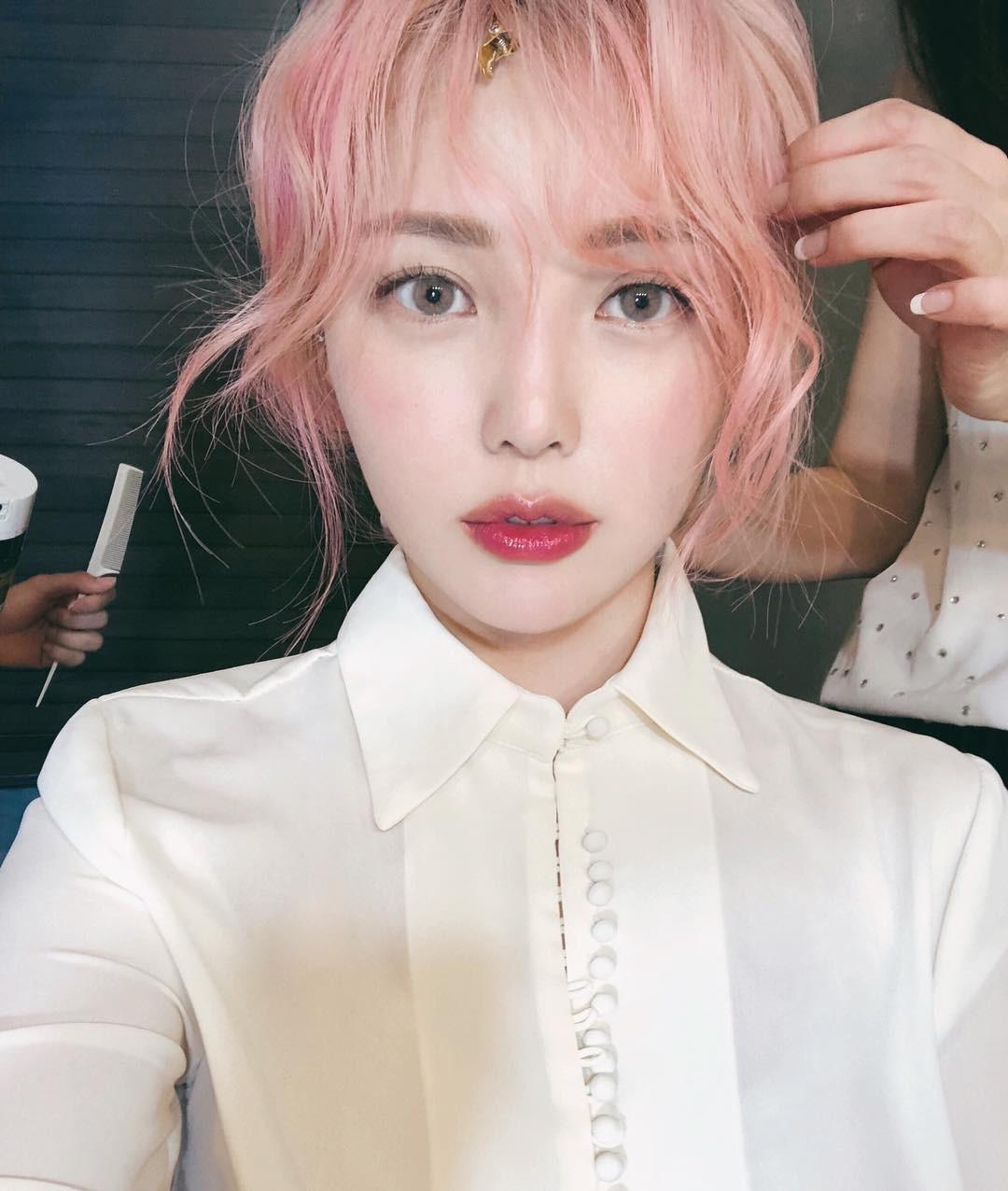 màu hồng pastel