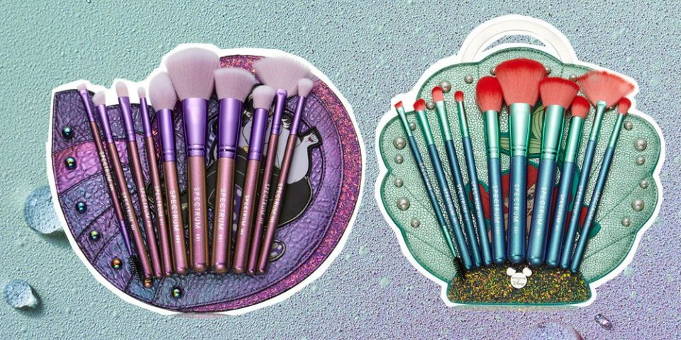 BST cọ Disney x Little Mermaid Makeup Brush Collection (Spectrum Collections)