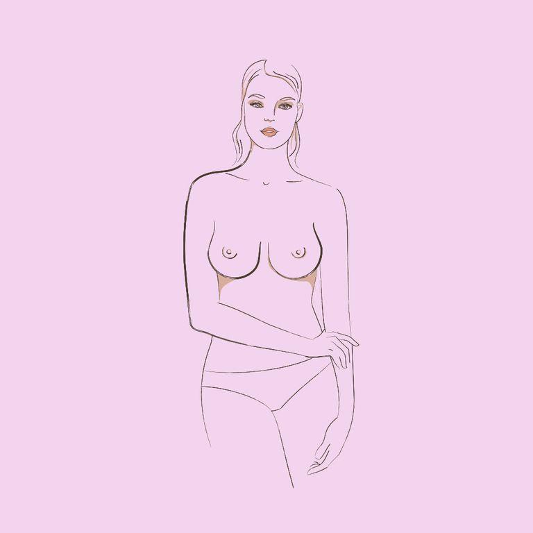 ngực hình giọt nước