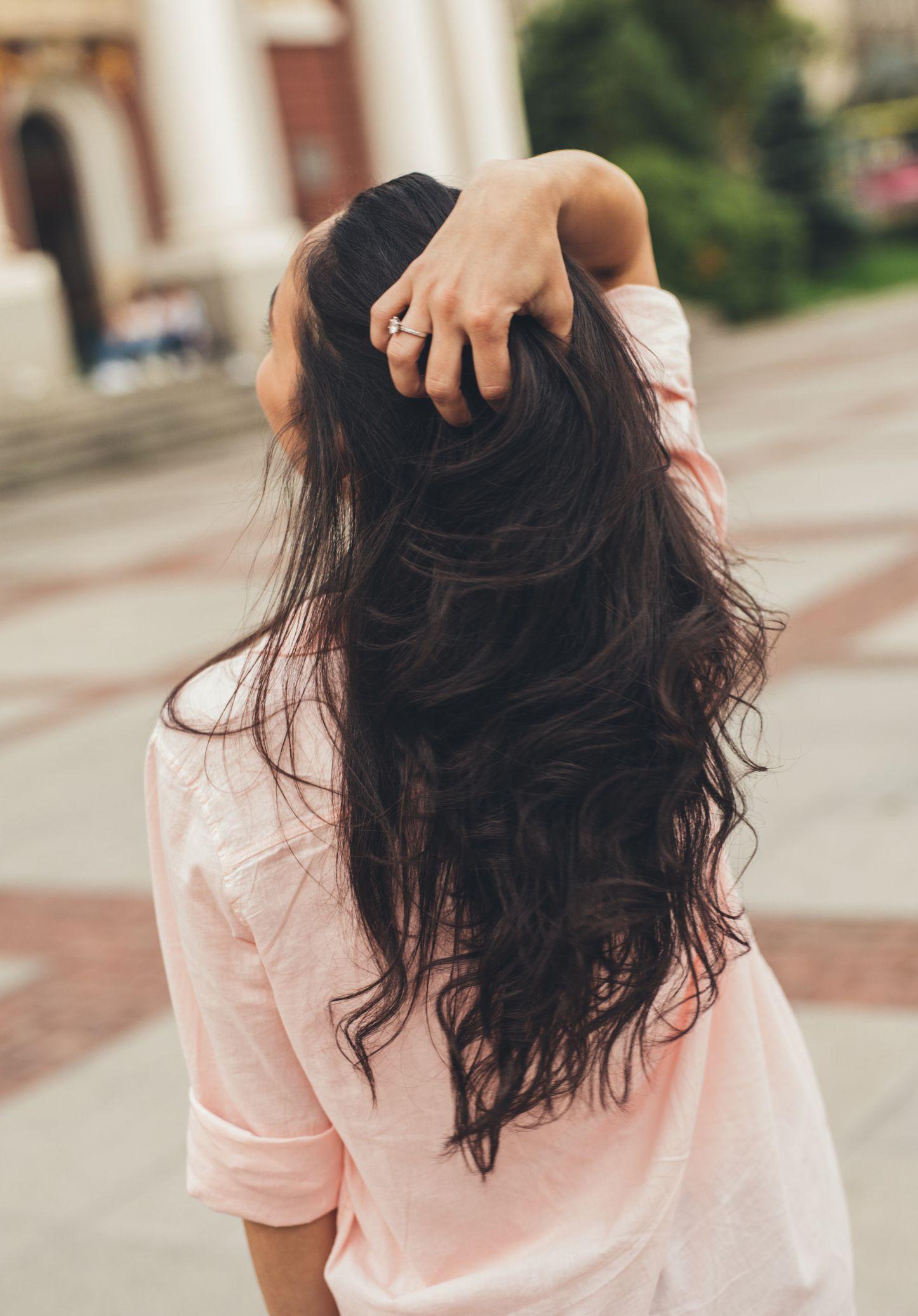 detox cho tóc trước ô nhiễm không khí