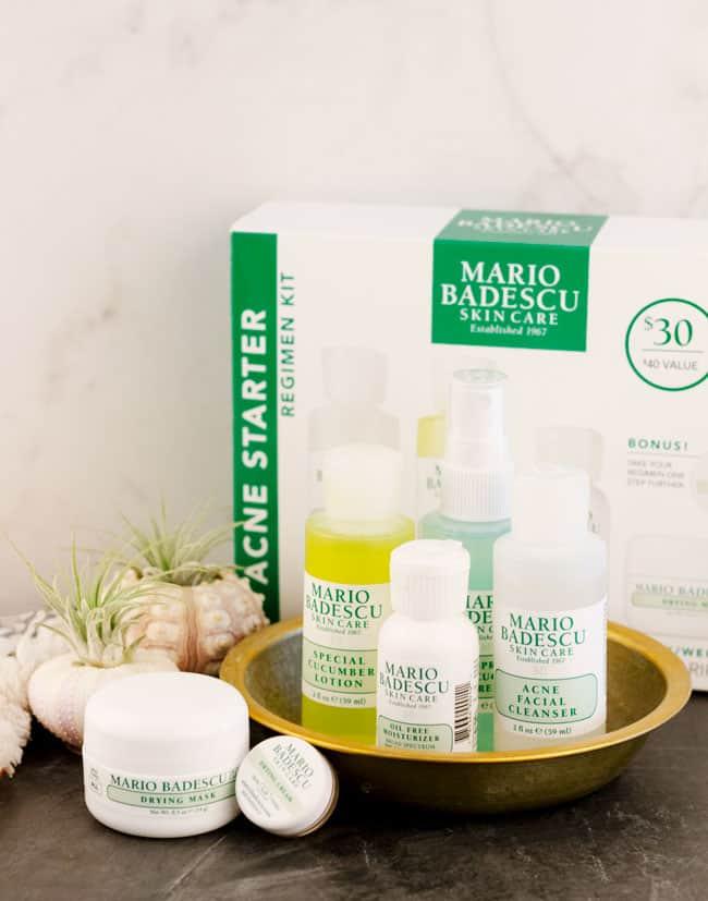 """Bộ sản phẩm Mario Badescu Acne Repair Kit – giải pháp hoàn hảo cho nàng da mụn """"khó ở"""""""