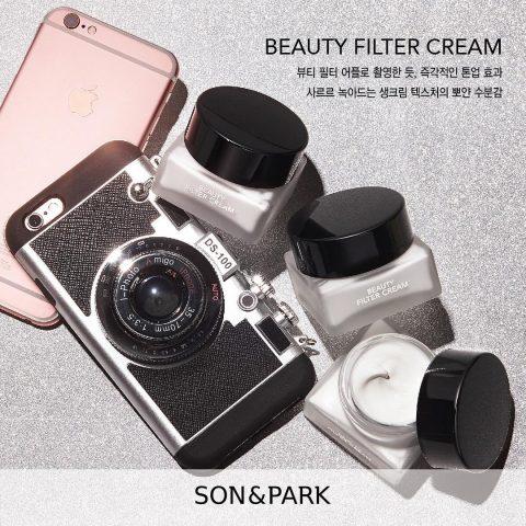 Son & Park's Filter Cream Glow – cho bạn làn da trắng sáng căng mịn