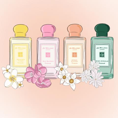 Bộ sưu tập Jo Malone Brilliant Blossoms – Những nốt hương hoa tuyệt đẹp