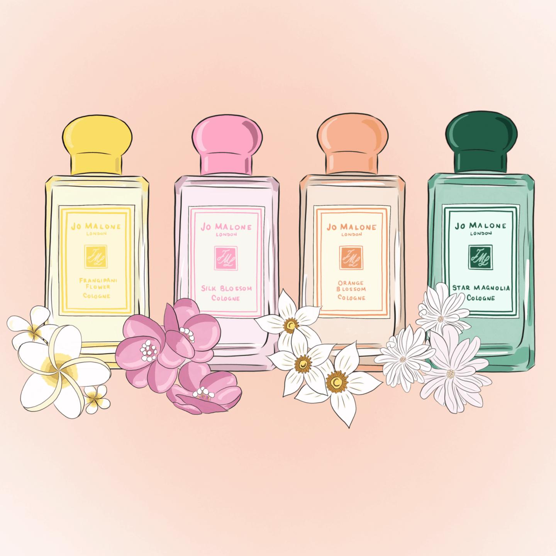 Bộ sưu tập Jo Malone Brilliant Blossoms – Những nốt hương hoa ...