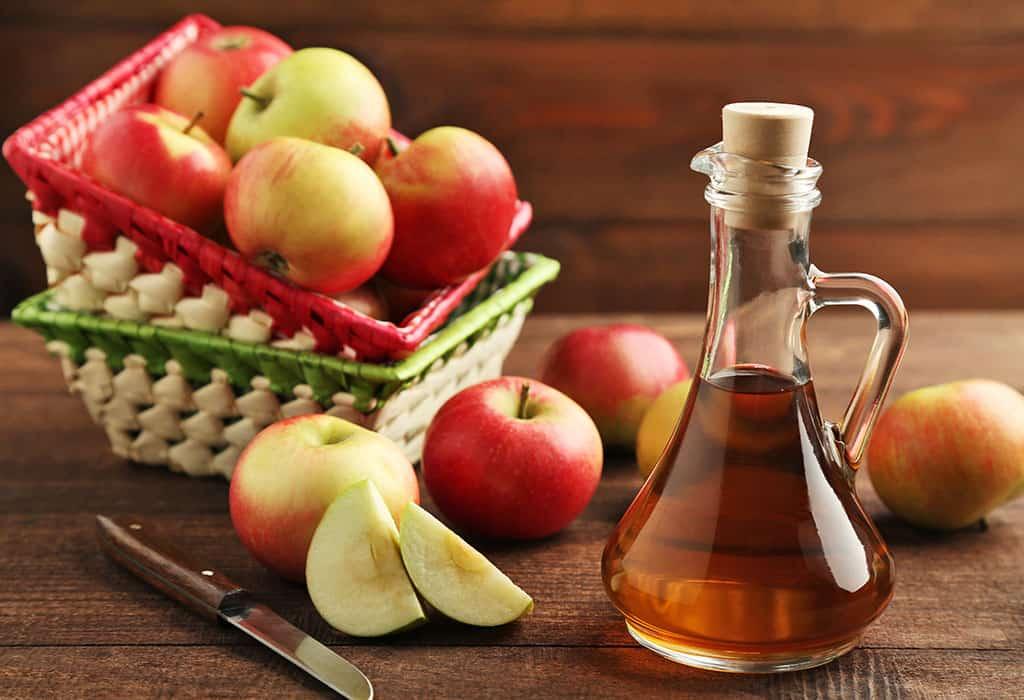 Sử dụng giấm táo để chăm sóc da