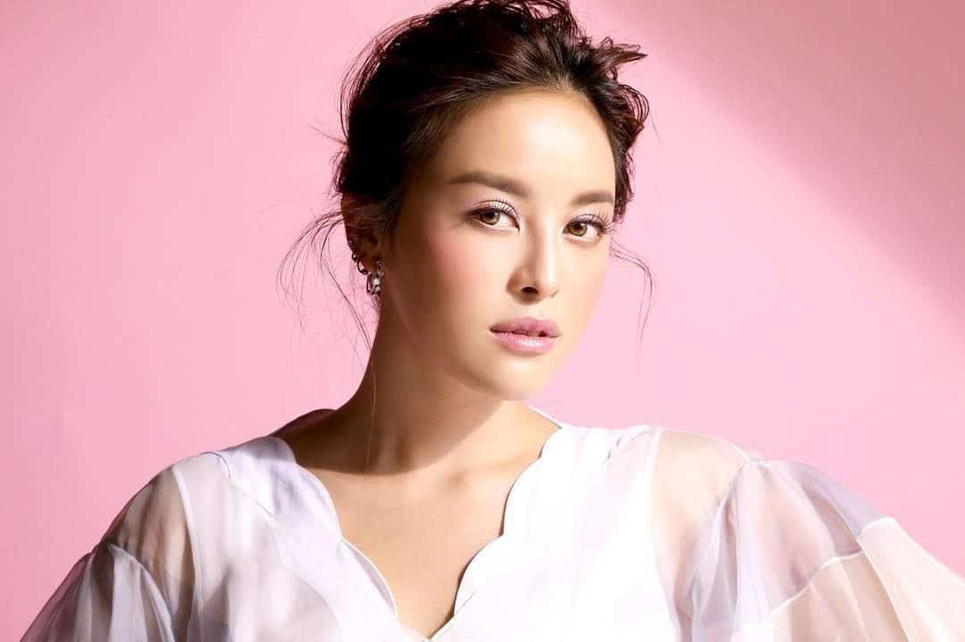 Beauty blogger Amata Chittasensee