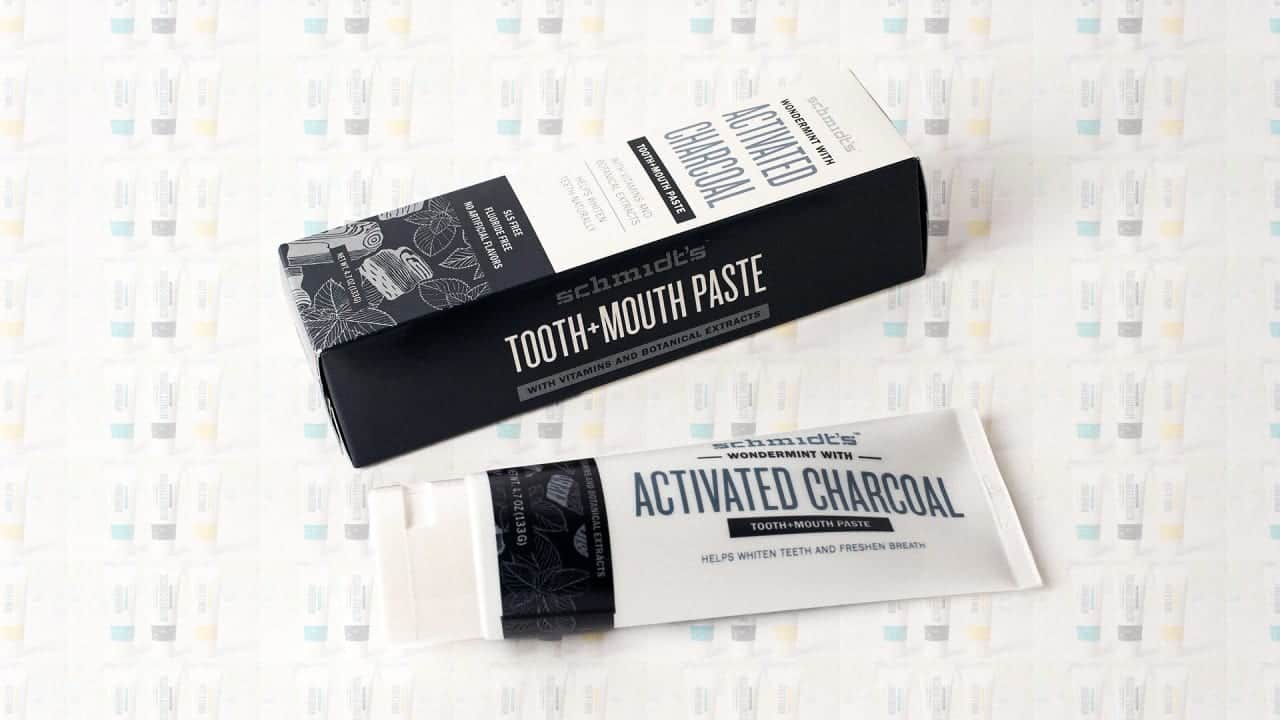 Schmidt's Activated Charcoal Tooth and Mouth Paste