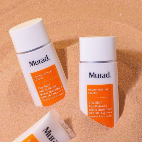 Kem chống nắng tạo lớp nền trang điểm Murad City Skin Age Defense Broad Spectrum SPF 50 PA++++
